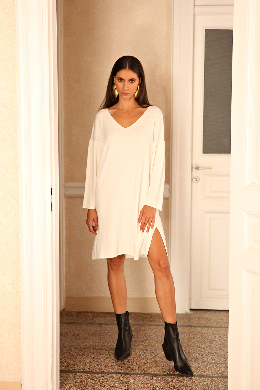 fluid short dress Nima