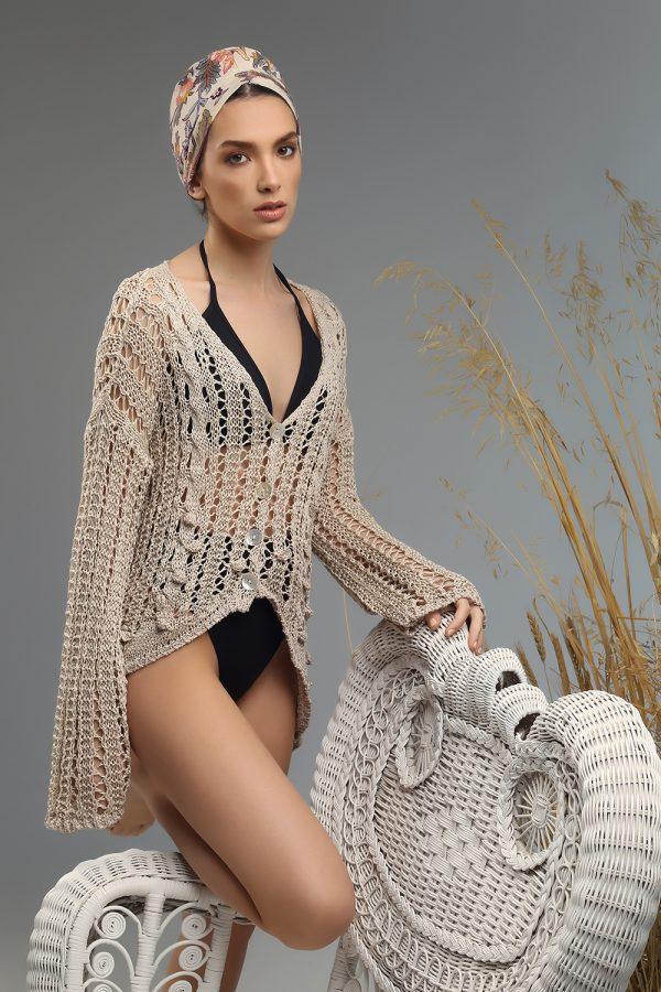 sesy cardigan Nima knitted sss21
