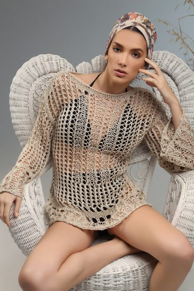 sesy blouse Nima ss 21 knitted