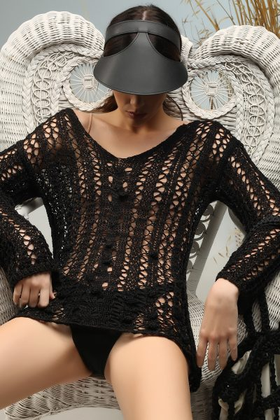 bali blouse knitted by ss 21 Nima liminal