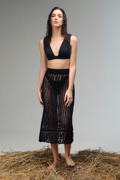 bae knitted midi skirt ss 21 Nima liminal collection