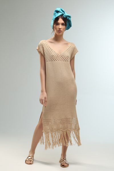 haley midi knitted dress from Nima liminal ss21 collection
