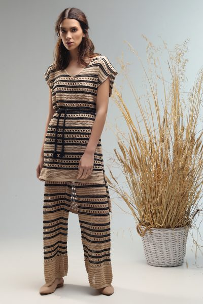 dobly top blouse and dress Nima ss21 collection
