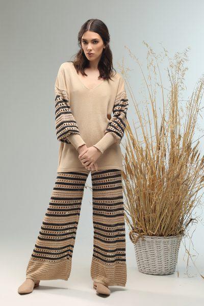 dobly long sleeve blouse Nima liminal ss21 collection