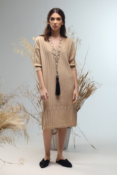 maira knitted dress from Nima liminal ss21 collection