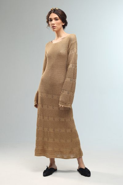 ele knitted dress long Nima ss 21