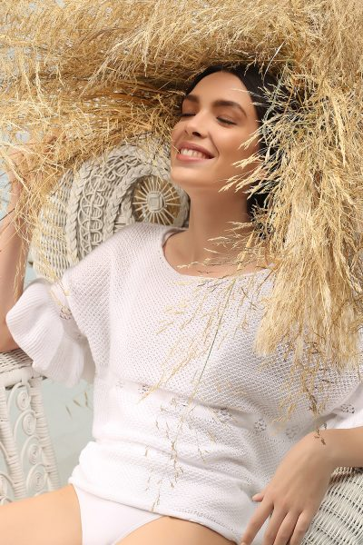 Lia top knitted ss 21 Nima
