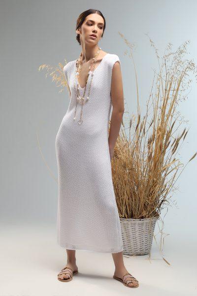 lia v bond knitted dress Nima